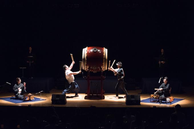 和太鼓と邦楽器のコラボレーション